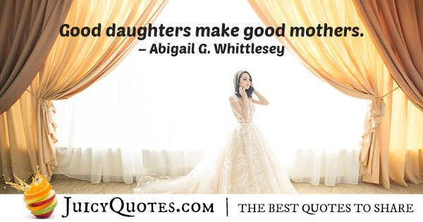 Good Daughters Quote