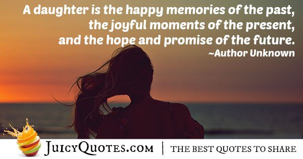 A Daughter Quote