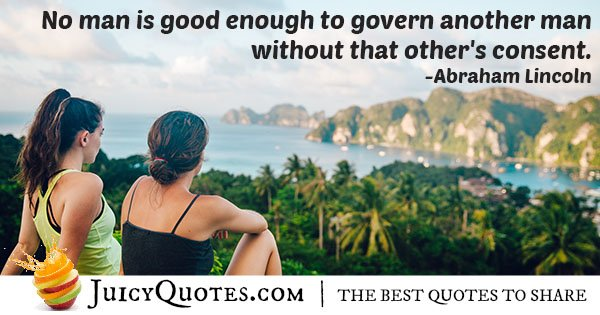Quote About Governing