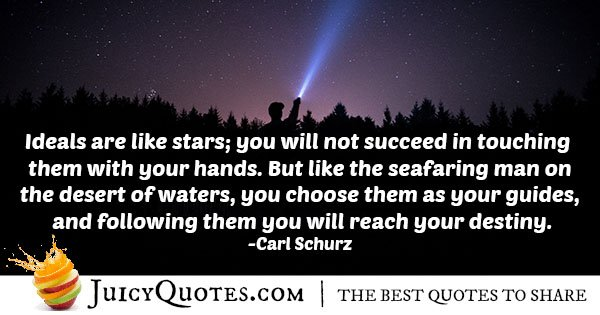 Reaching Your Destiny Quote