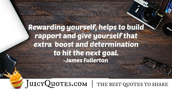 Boost and Determination Quote