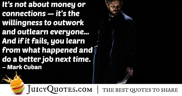 Outwork Everyone Quote