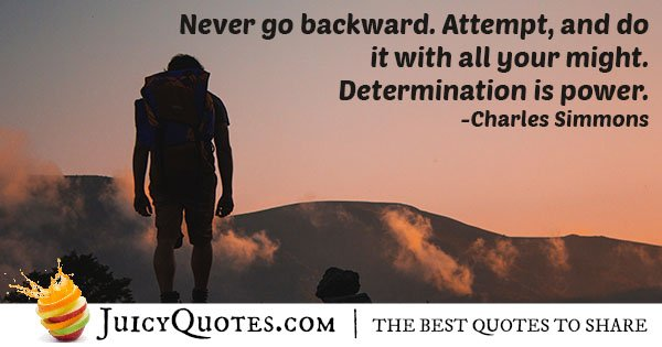 Determination Is Power Quote
