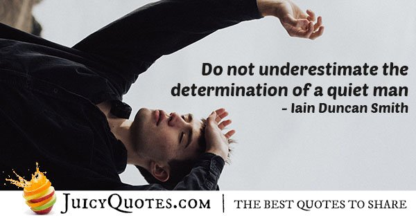 Quote About Determination
