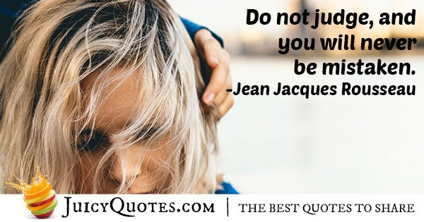 Do Not Judge Others Quote