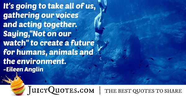 Our Environment Quote