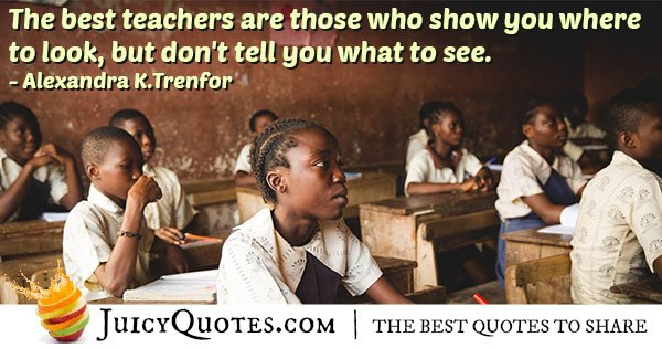 Best Teachers Quote
