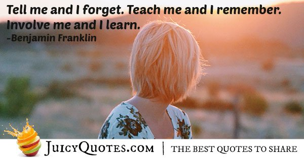 Teaching and Learning Quote