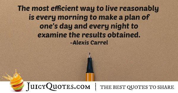 Efficiency in Living Quote