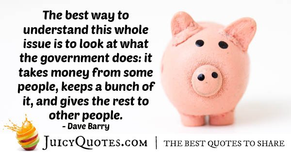 Welfare and Governments Quote