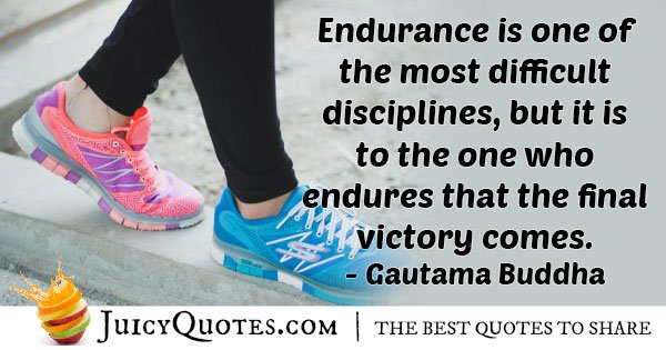 Difficulty of Endurance Quote