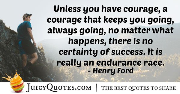 Race of Endurance Quote