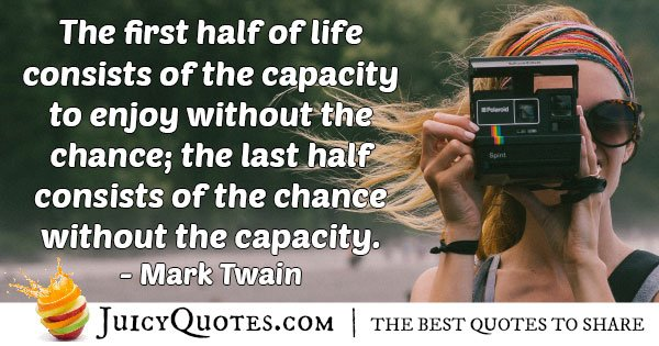 Capacity to Enjoy Quote
