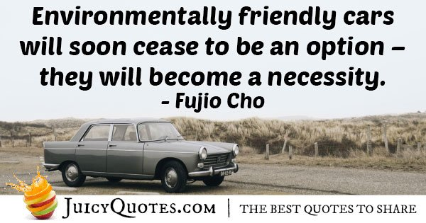 Environmentally Friendly Cars Quote