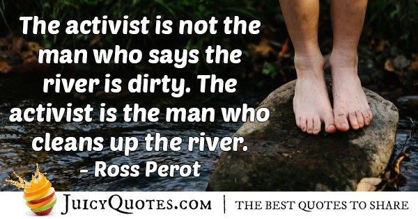 Environmental Activists Quote