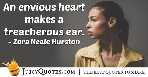 Envious Heart Quote