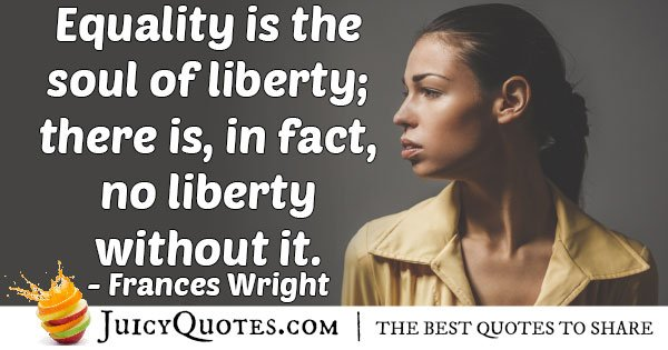 Equality and Liberty Quote