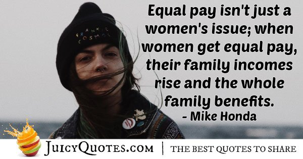 Equal Pay Quote