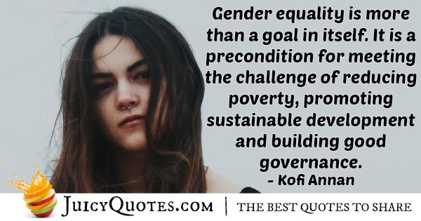 Quote About Gender Equality