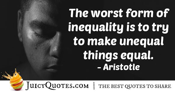 Worst Inequality Quote