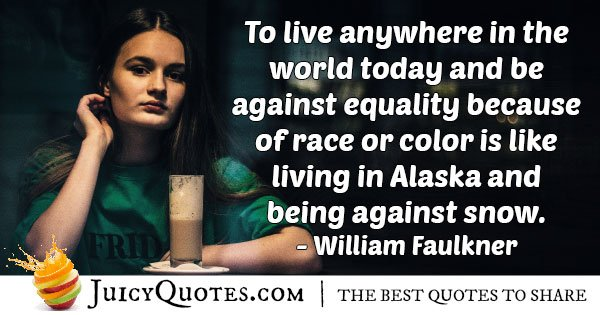 Equality of Race and Color Quote