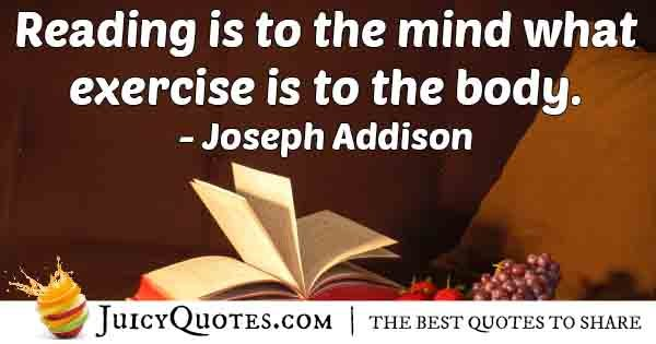Exercise Body and Mind Quote