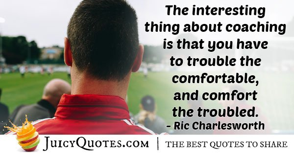Field Hockey Coaching Quote