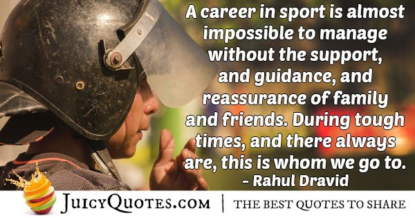 Field Hockey Career Quote