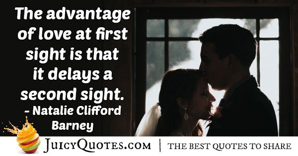 First Love Delays Quote