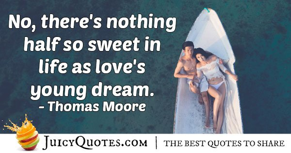 First Love is So Sweet Quote