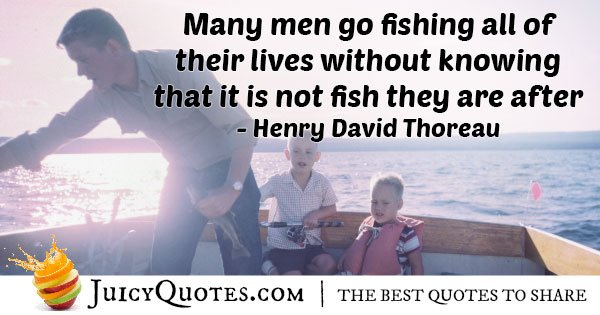 Fishing all Their Lives Quote