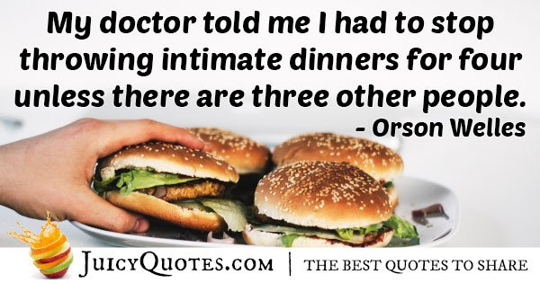 Doctor Told Me Quote