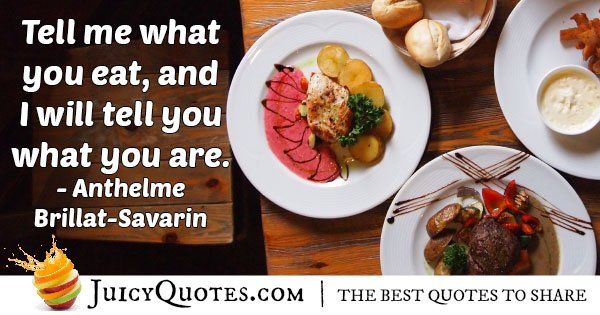 What you Eat Quote