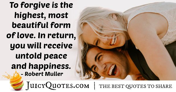 Forgiveness and Peace Quote