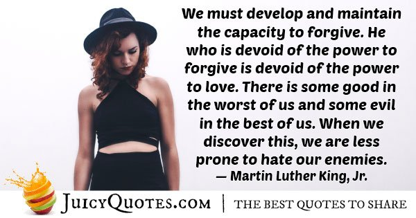 Capacity To Forgive Quote