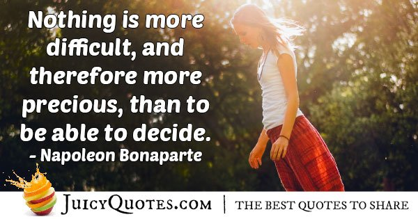 Able To Decide Quote