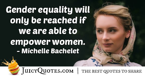 Empower Gender Equality Quote