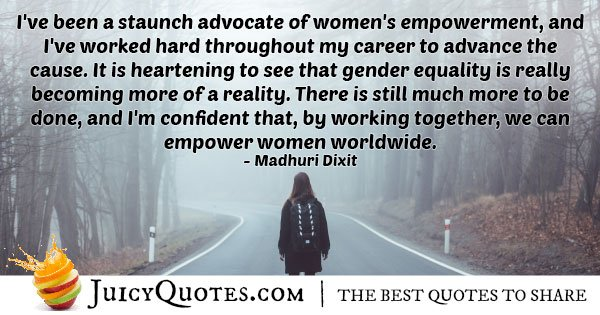 Gender Equality Empowerment Quote