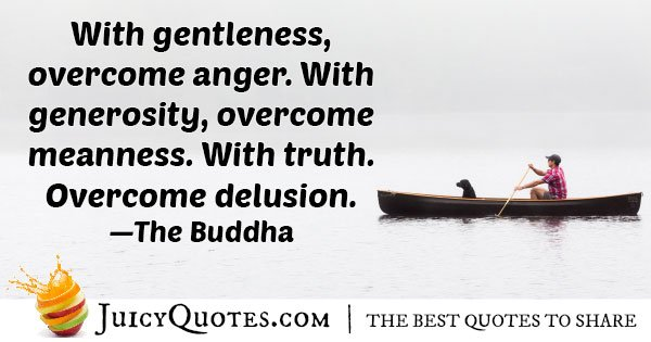 Overcome with Generosity Quote