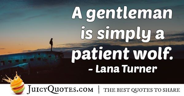 Patient Wolf Quote