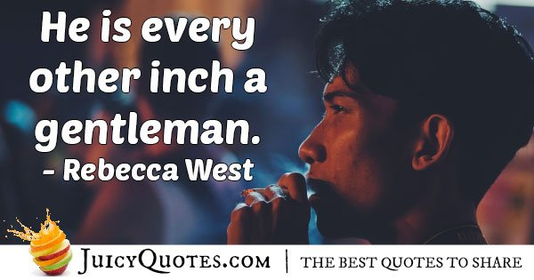 Every Inch of Gentleman Quote