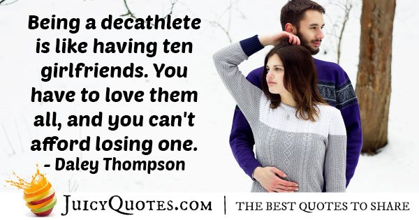 Ten Girlfriend's Quote