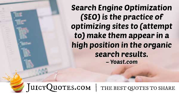 SEO Appear Organic Quote