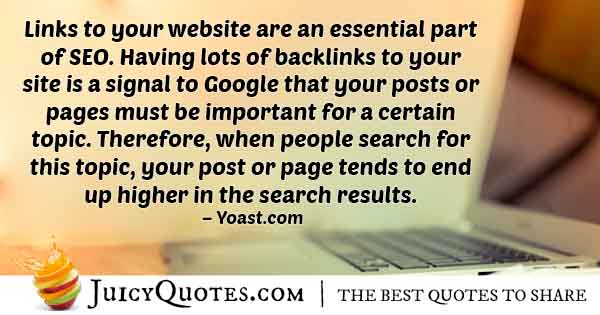 Essential Parts of SEO Quote