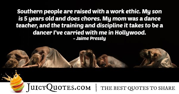 Raised With Work Ethic Quote