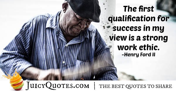 Qualification for Success Quote
