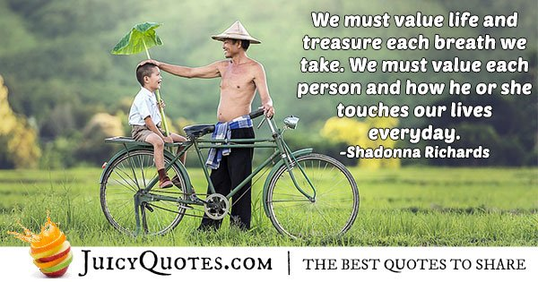Value Each Person Quote