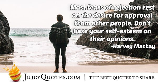 Desire for Approval Quote