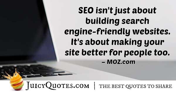 SEO Noticeable Impact Quote