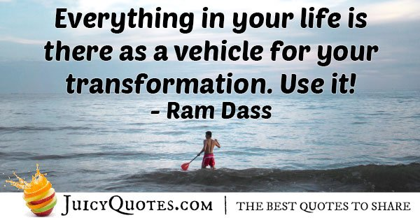 Using Everything In Life Quote
